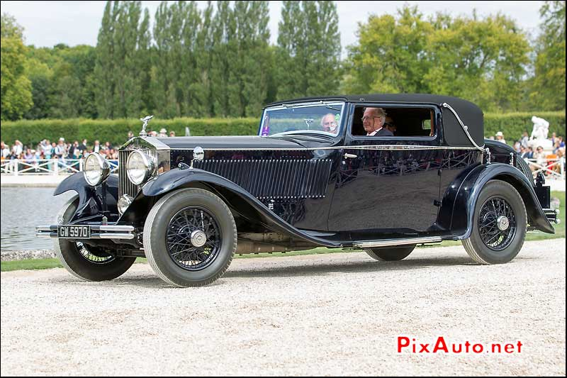 Chantilly-Arts-&-Elegance-Richard-Mille, Rolls-Royce Phantom Aga Khan