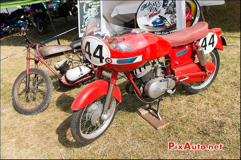 Coupes Moto Legende 2015, AGF a moteur Ydral