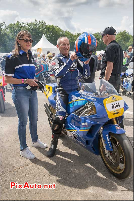 Coupes Moto Legende 2015, Christian Sarron