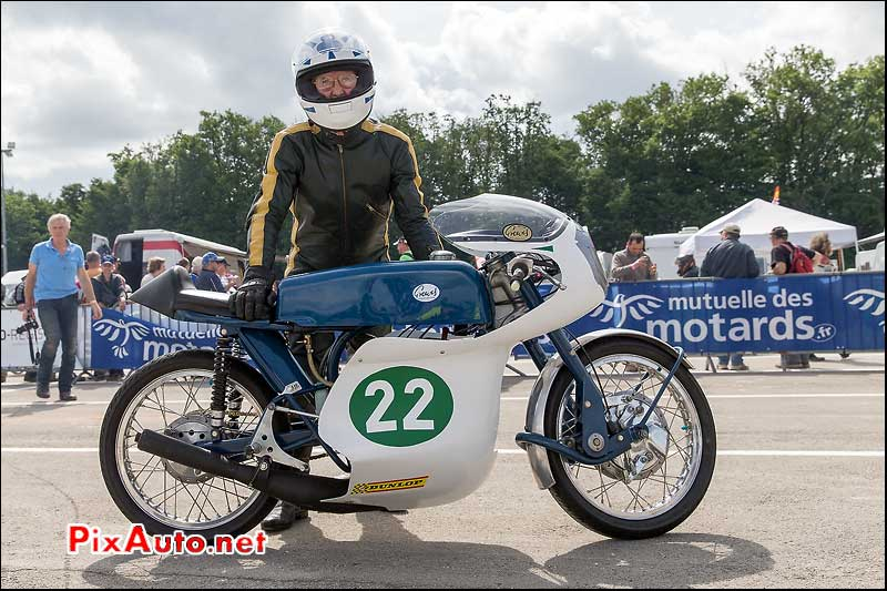 Coupes Moto Legende, Greeves 250 Silverstone Colin Wilkinson