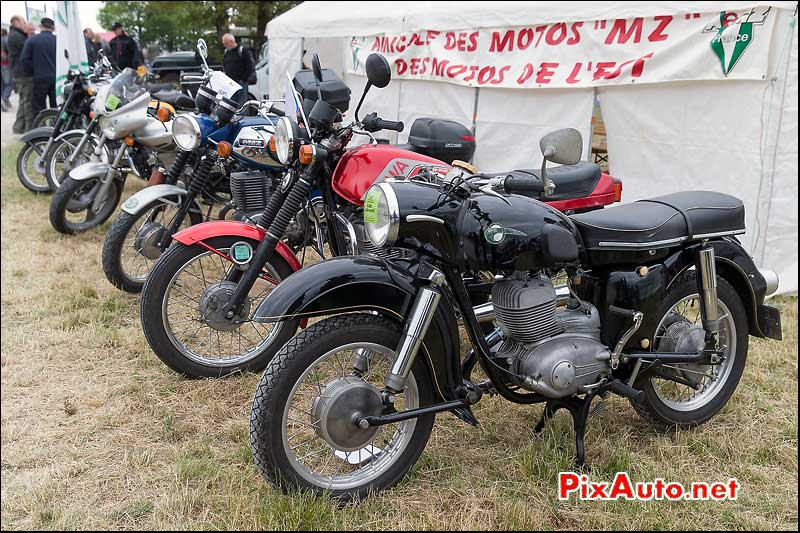 Coupes Moto Legende, MZ ES175/1