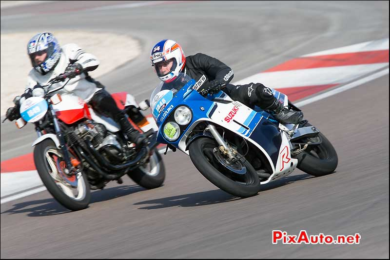 Coupes Moto Legende, Suzuki 750 GSX-R 1985