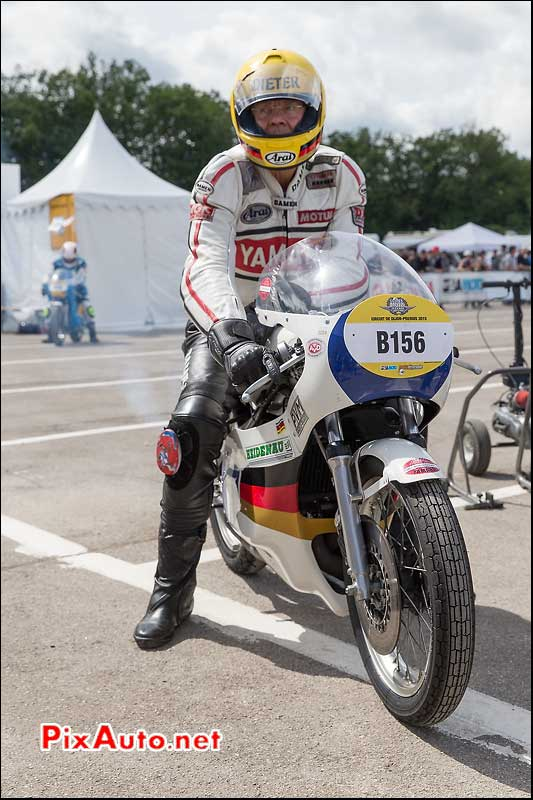 Coupes Moto Legende, Yamaha 350 TZ Dieter Braun