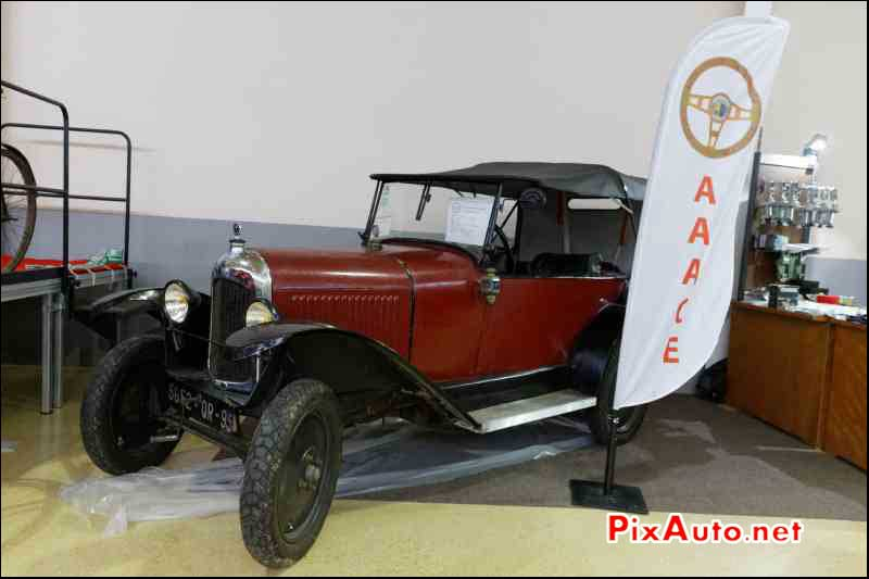 Bourse echanges Ezanville, Citroen 5HP Trefle