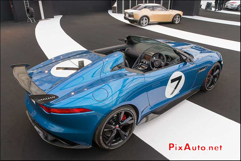 Exposition Concept-Cars, Jaguar F-Type Project 7