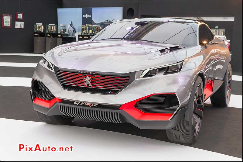 Exposition Concept-Cars, Peugeot Quartz