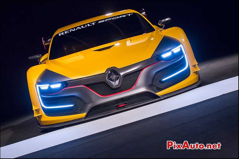 Exposition Concept-Cars, Renault Rs01 Calandre
