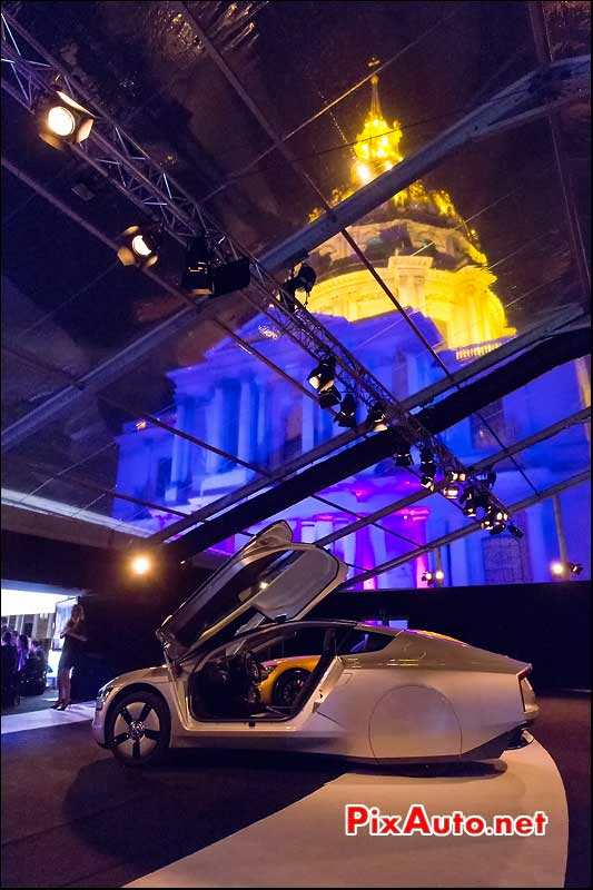 Exposition Concept-Cars, Volkswagen Xl1 Hotel Invalides