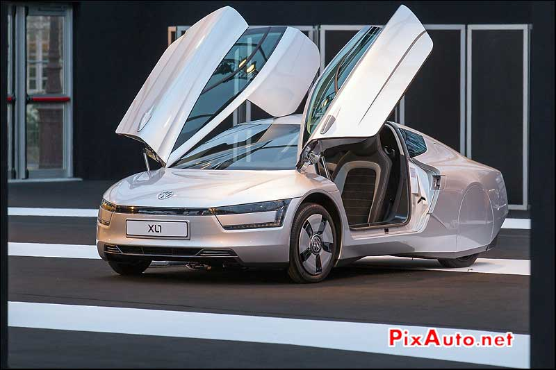 Exposition Concept-Cars Paris, Volkswagen Xl1