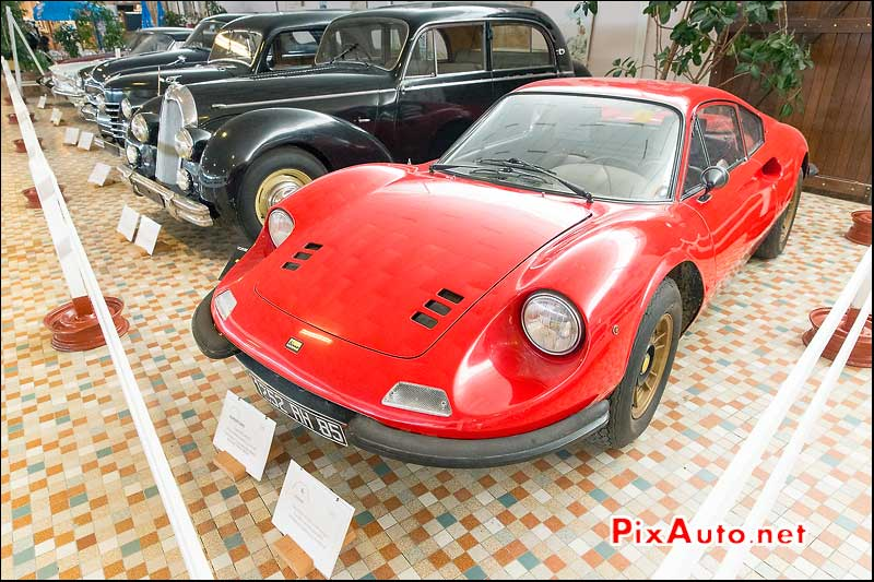 Musee-Automobile-Vendee, Dino 246 GT