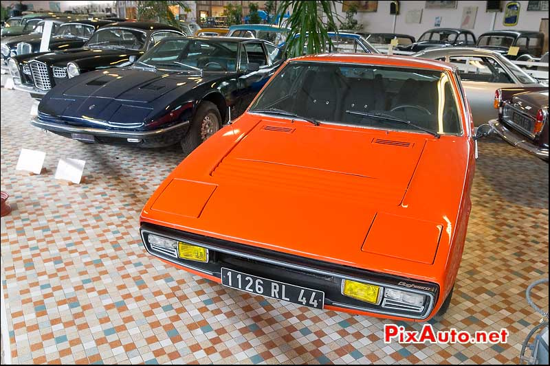 Musee-Automobile-Vendee, Matra Bagheera et Maserati Indy