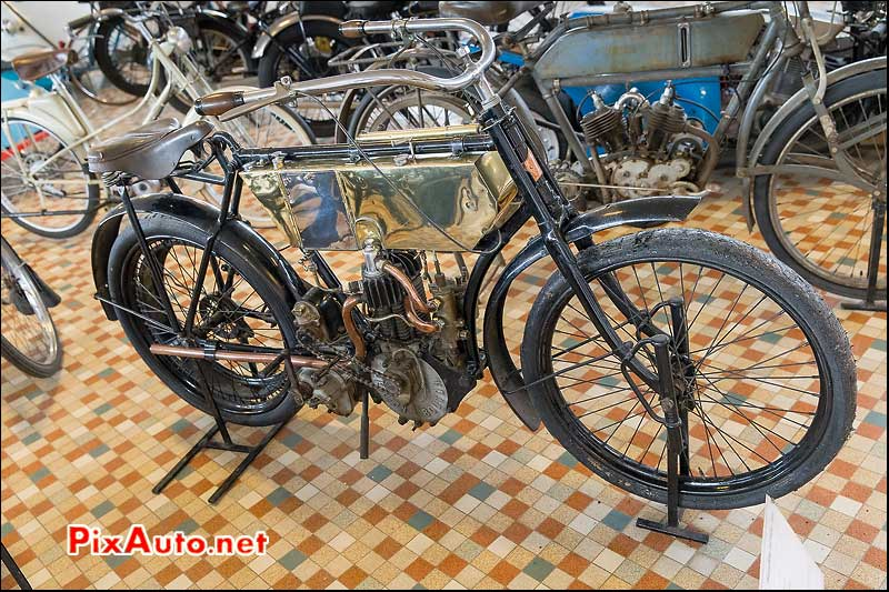 Musee-Automobile-Vendee, Motocyclette Ducoeur