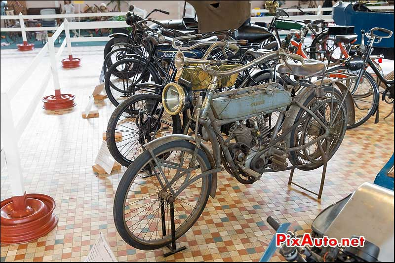 Musee-Automobile-Vendee, Motocyclette Peugeot