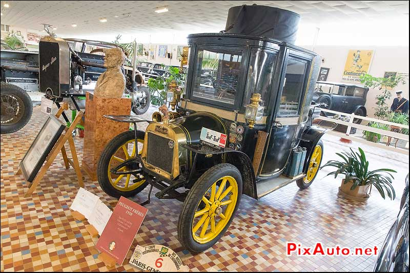 Musee-Automobile-Vendee, Peugeot Frere C2 V2 1910