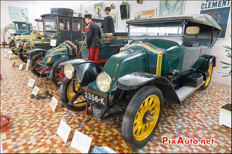 Musee-Automobile-Vendee, Renault type EU et AG1