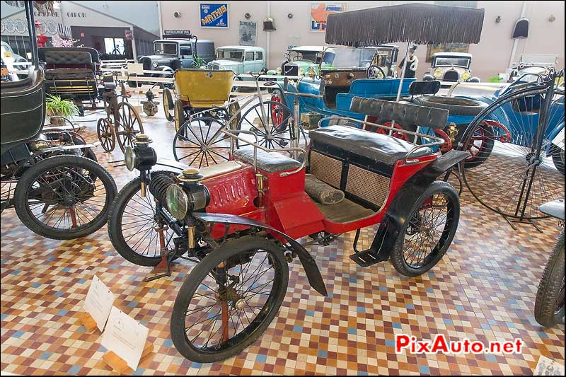 Musee-Automobile-Vendee, Vis-a-Vis Decauville