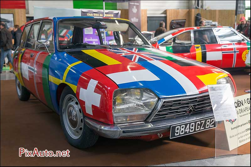 Salon Automedon, Citroen GS A Drapeaux