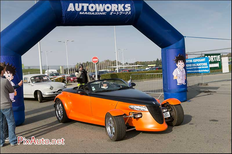 Parking Salon Automedon, Plymouth Prowler