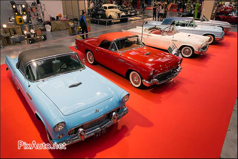 Salon Automedon, Podium Ford Thunderbird