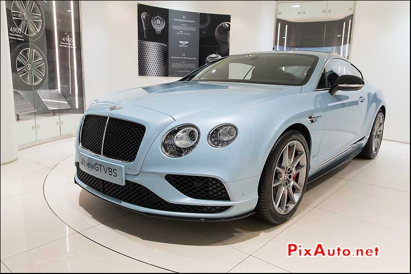 Salon De Geneve, Bentley Continental GT V8S