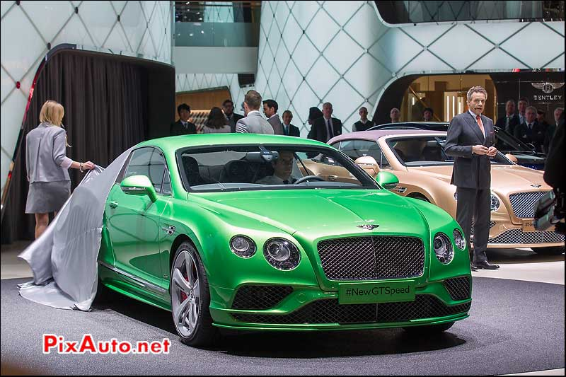 85e Salon De Geneve, Bentley New GT Speed