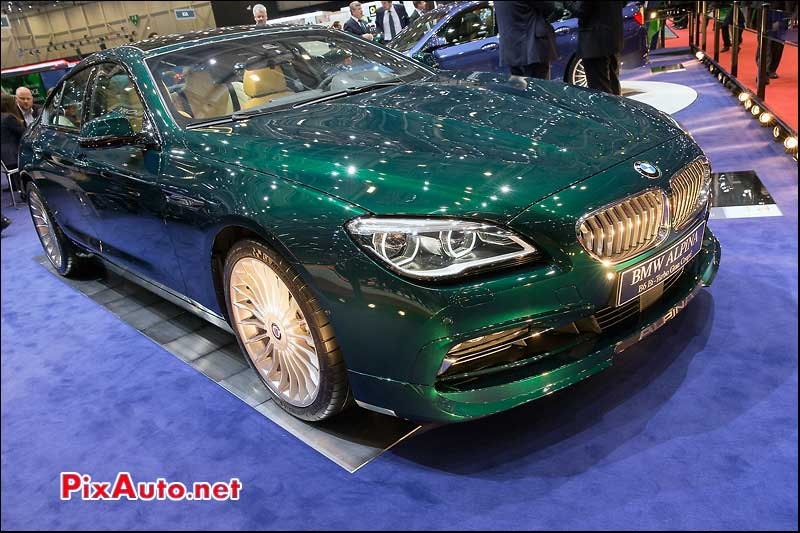 Salon -de-Geneve, BMW Alpina B6 Biturbo Gran Coupe