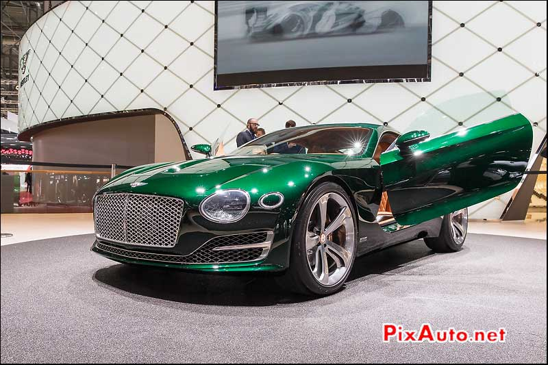 Salon De Geneve, Concept Bentley Exp 10 Speed 6