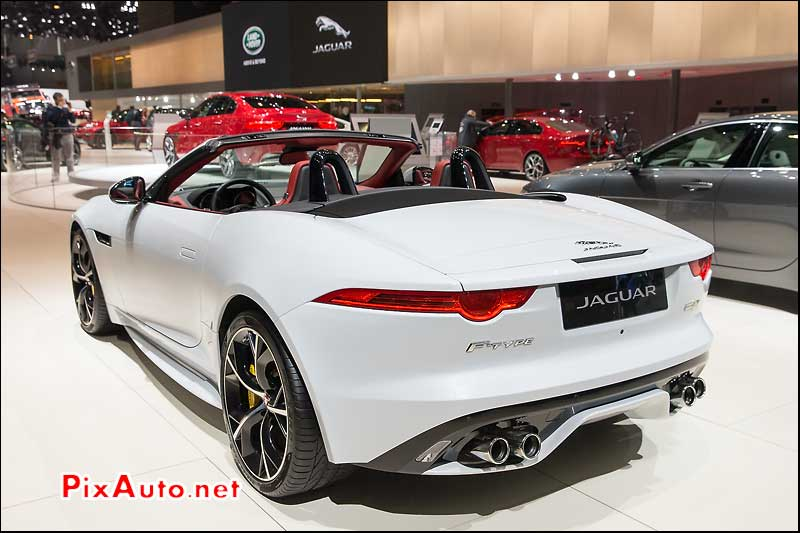 Salon De Geneve, Jaguar F-Type R Convertible