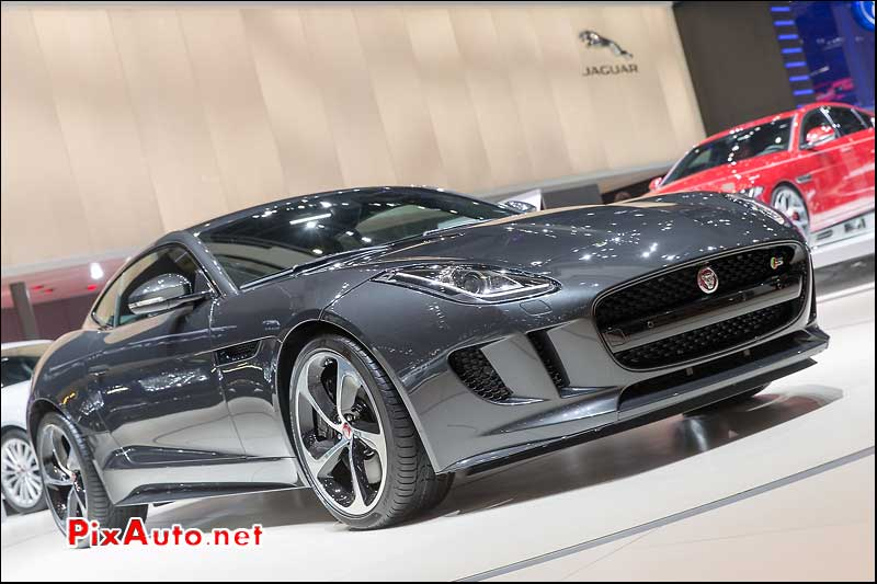 Salon De Geneve, Jaguar F-Type S Coupe