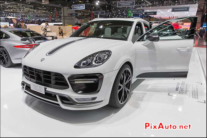 Salon de Geneve, Porsche Macan by Techart