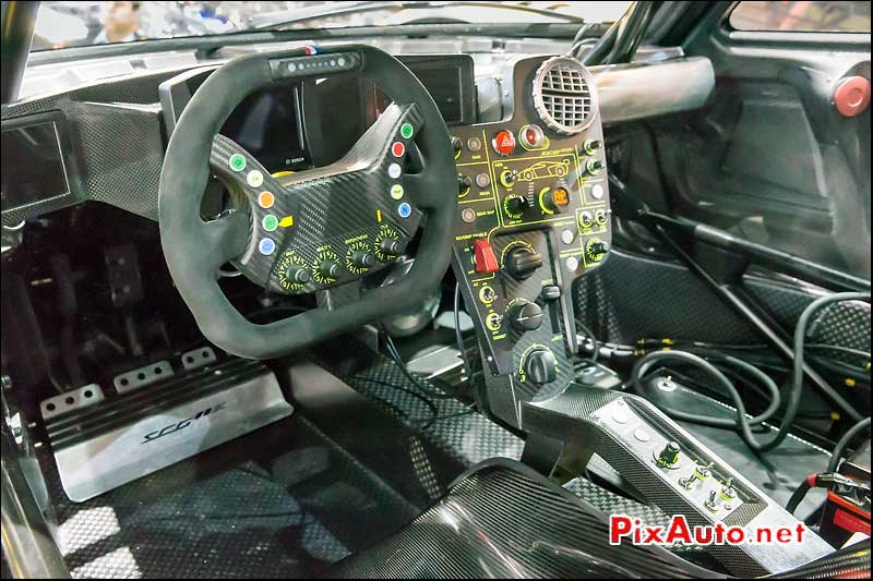 Salon De Geneve, Scg003c Cockpit Carbone