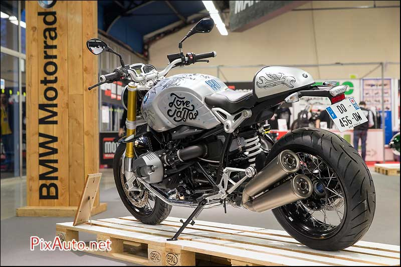 Salon-Moto-Legende 2015, BMW R NineT Art Bike