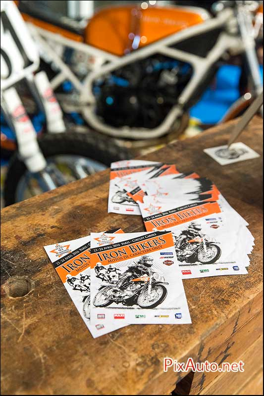 Salon-Moto-Legende 2015, Iron Bikers 2016