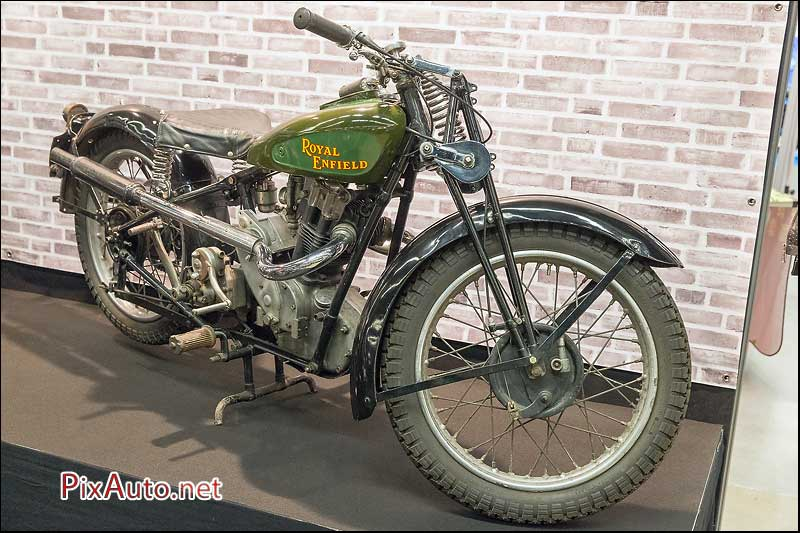Salon-Moto-Legende 2015, Royal Enfield