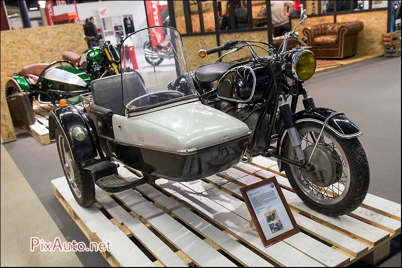 Salon-Moto-Legende 2015, Side-Car BMW R50 Jupiter