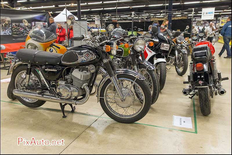 Salon-Moto-Legende 2015, Stand Belles Becanes
