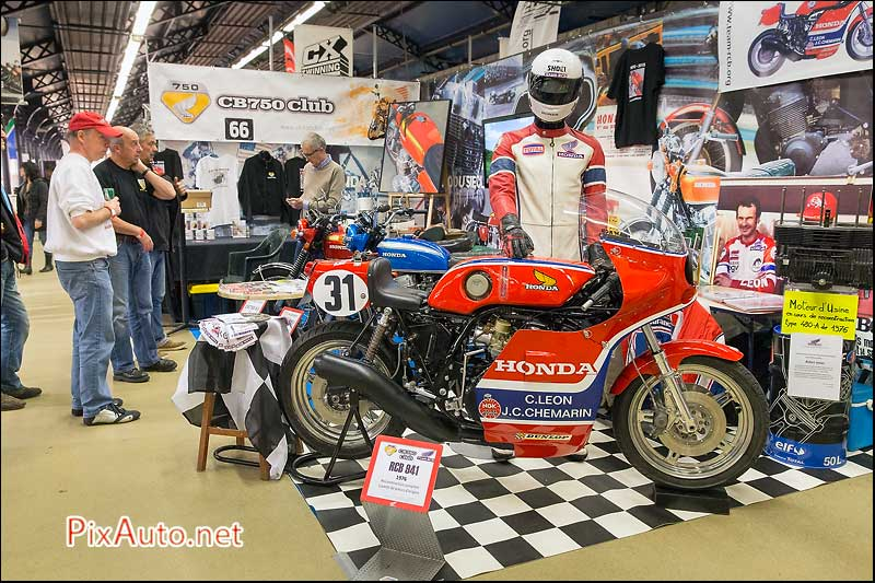 Salon-Moto-Legende 2015, Stand Club Cb750