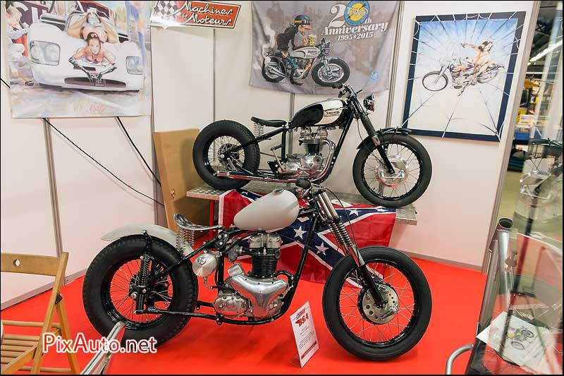 Salon-Moto-Legende 2015, Stand Machines et Moteurs