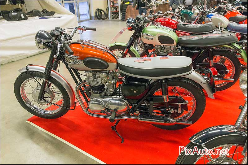 Salon-Moto-Legende 2015, Triumph T120 1962