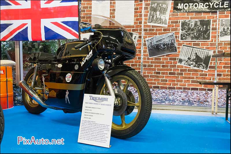 Salon-Moto-Legende 2015, Triumph Trident Rob North