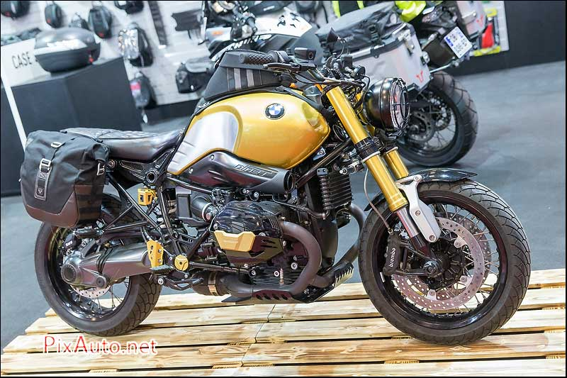 Salon-de-la-Moto, BMW R-nineT Bagages SW Motech