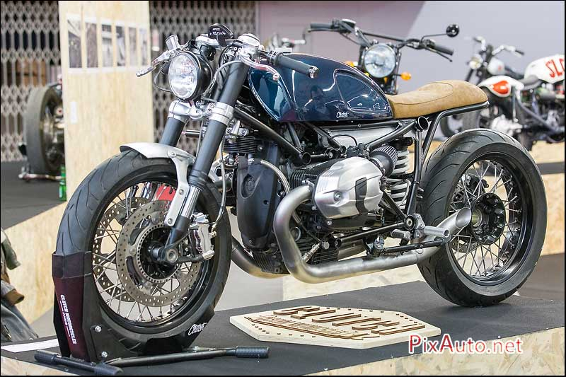 Salon-de-la-Moto, cafe-racer BMW R-NineT Clutch Motorcycles