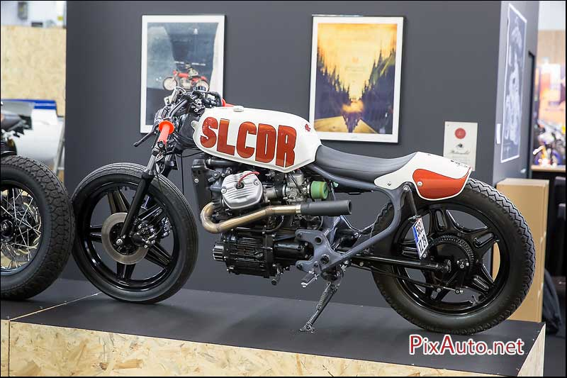 Salon-de-la-Moto, Honda CX500 Surleschapeauxderoues