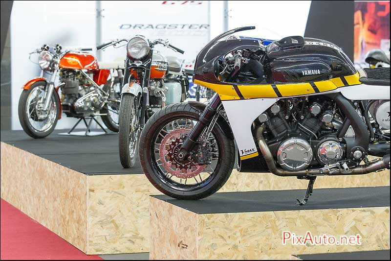Salon-de-la-Moto 2015, Podium Cafe Racer