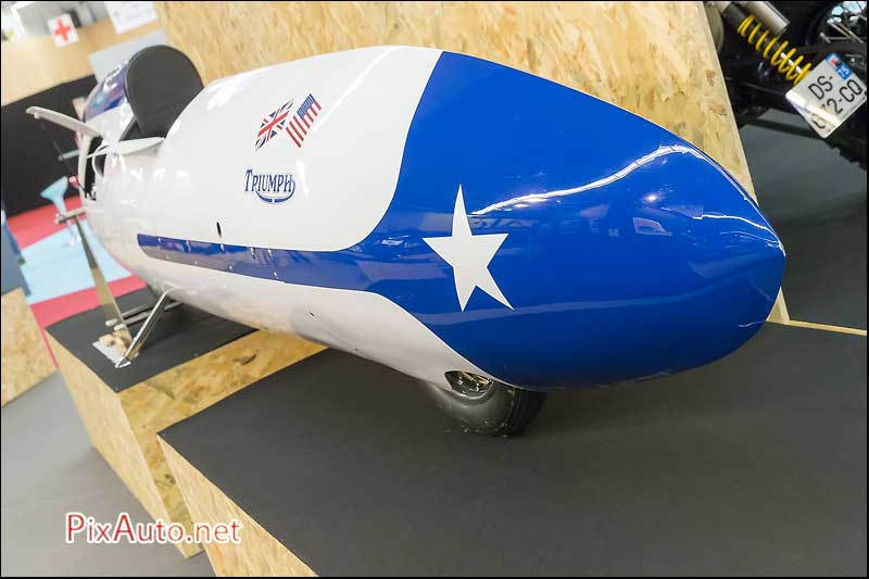 Salon-de-la-Moto, Triumph Speed Record Bike 1956