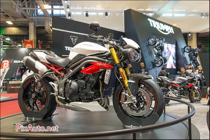 Salon-de-la-Moto, Triumph Speed Triple 1050R