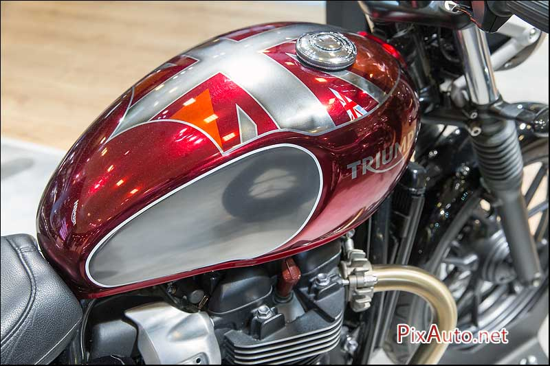 Salon-de-la-Moto 2015, news Triumph Street Twin