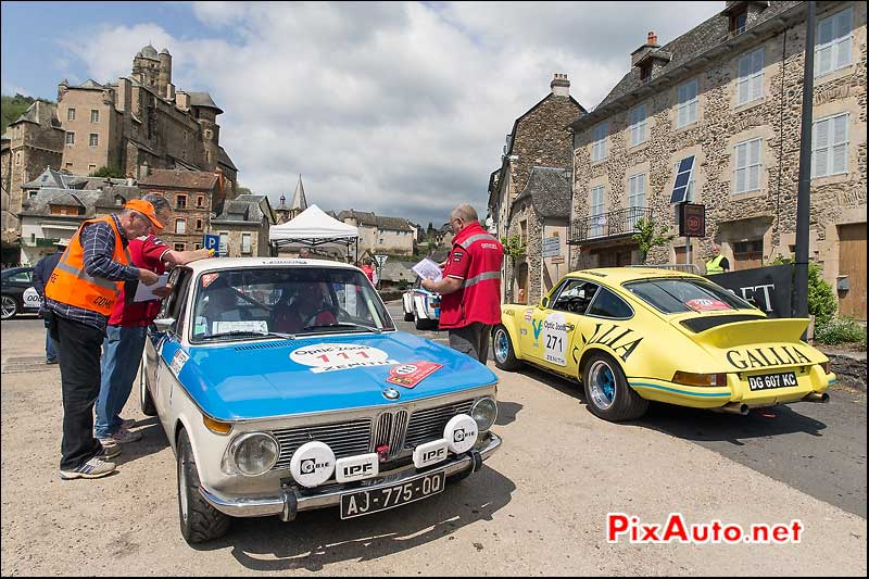 Tour Auto, Chateau Estaing, BMW 1602 N°111