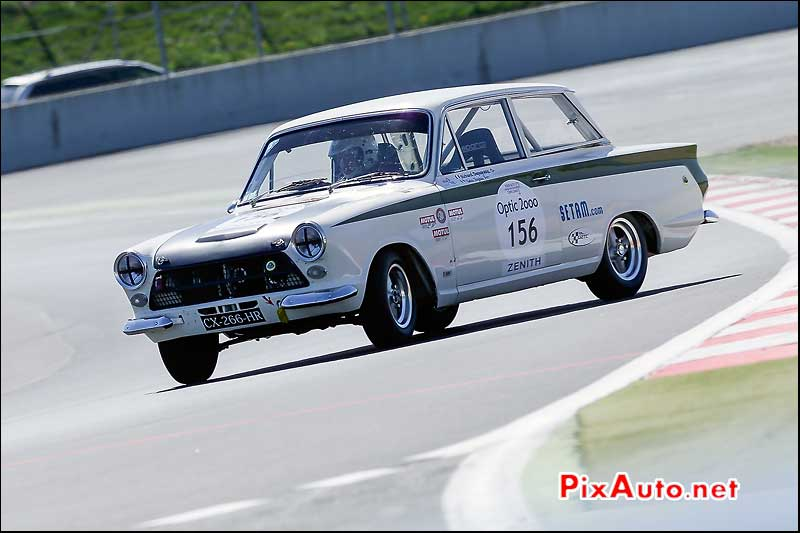 Tour Auto, Circuit Magny-Cours, Ford Cortina Lotus N°156