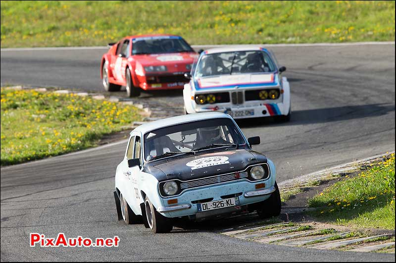 Tour Auto, Circuit Charade, Ford Escort N°290